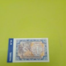 Reproducciones billetes y monedas: HISTORIA DE LA PESETA FACSIMIL 1 PESETA. Nº 91. C8CR. Lote 174092073