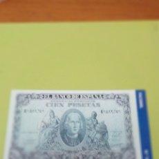 Reproducciones billetes y monedas: HISTORIA DE LA PESETA FACSIMIL. 100 PESETAS. Nº 100. C8CR. Lote 174092784
