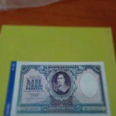 Reproducciones billetes y monedas: HISTORIA DE LA PESETA FACSIMIL. 1000 PESETAS. Nº 102. C8CR. Lote 174092929