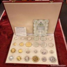 Reproducciones billetes y monedas: MONEDAS DE LA HISTORIA DE LA PESETA. Lote 174124050