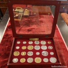 Reproducciones billetes y monedas: MONEDAS HISTORIA PESETA. Lote 174125907