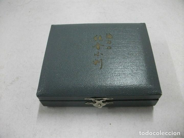 Reproducciones billetes y monedas: JAPON MONEDA KOBAN JAPONES DE PLATA PURA, PERIODO KAINJI, EPOCA SAMURAI - Foto 7 - 174411093