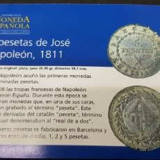 Reproducciones billetes y monedas: 5 PESETAS 1811 BARCELONA . Lote 175222367