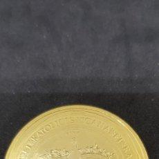 Reproducciones billetes y monedas: 100 DUCADOS JUANA Y CARLOS 1528 ZARAGOZA 42MM. Lote 175222547