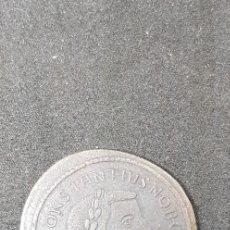 Reproducciones billetes y monedas: CONSTANCIO I (292-304) COLECCIÓN TESAFILM. Lote 175223084