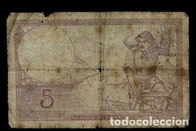Reproducciones billetes y monedas: BILLETE SELLO ESVASTICA OCUPACION ALEMANA FRANCIA SEGUNDA GUERRA MUNDIAL. - Foto 2 - 175865009