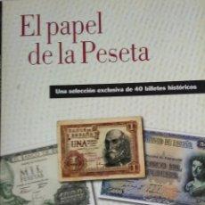 Reproducciones billetes y monedas: EL PAPEL DE LA PESETA II. Lote 177637069