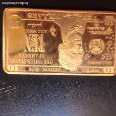Reproducciones billetes y monedas: 10 DOLARES. Lote 177645449
