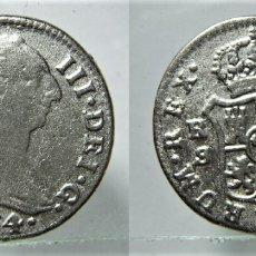 Reproducciones billetes y monedas: REPRODUCCIÓN.DE UNA MONEDA DE CARLOS III 2 REALES 1774. Lote 177669629