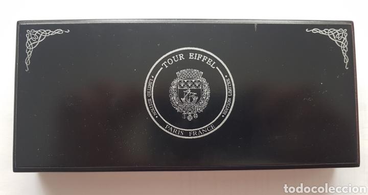 Reproducciones billetes y monedas: Colección monedas conmemoración Torre Eiffel - Foto 3 - 178329250