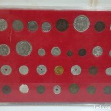 Reproducciones billetes y monedas: HISTORIA DE LA PESETA DEL DIARIO SUR DE MÁLAGA. COLECCIÓN DE 30 MONEDAS (REPRODUCCIONES). Lote 178356033