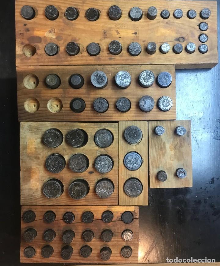 ANTIGUOS TROQUEL, TROQUELES, ESPECIAL PARA COLECCIONISTAS (PARA HACER COPIAS) VER FOTOS, 70 UNIDADES (Numismática - Reproducciones)