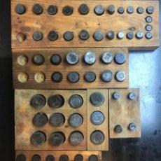 Reproducciones billetes y monedas: ANTIGUOS TROQUEL, TROQUELES, ESPECIAL PARA COLECCIONISTAS (PARA HACER COPIAS) VER FOTOS, 70 UNIDADES. Lote 178617668