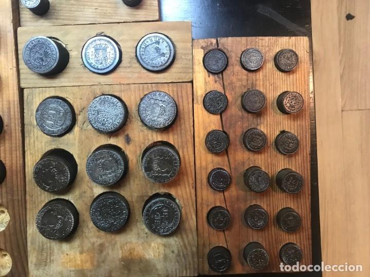 Reproducciones billetes y monedas: Antiguos troquel, troqueles, especial para coleccionistas (para hacer copias) ver fotos, 70 unidades - Foto 6 - 178617668