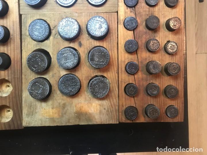 Reproducciones billetes y monedas: Antiguos troquel, troqueles, especial para coleccionistas (para hacer copias) ver fotos, 70 unidades - Foto 7 - 178617668