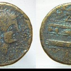 Reproduções notas e moedas: REPRODUCCION DE UN AS IBERICO DE ARSE SAGUNTO. Lote 178805015