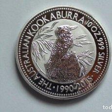 Reproducciones billetes y monedas: KOKABURRA AUSTRALIA 1 DOLAR 2015. Lote 179073130