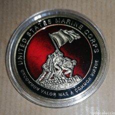 Reproducciones billetes y monedas: MONEDA MARINES. Lote 179538485