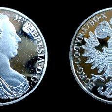Reproducciones billetes y monedas: THALAR MARIA TERESA 1780. Lote 179544292