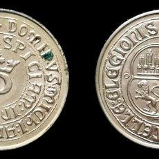 Reproducciones billetes y monedas: MONEDA ANTIGUA DE PLATA. Lote 180017358