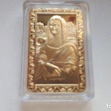 Reproducciones billetes y monedas: LINGOTE DE ORO DE DA VINCI. Lote 180102482