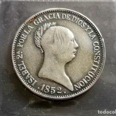 Reproducciones billetes y monedas: 20 REALES 1852 . Lote 180239805