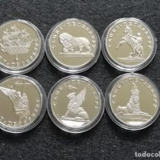Reproducciones billetes y monedas: LOTE DE 6 MONEDAS RUSAS . Lote 180248992