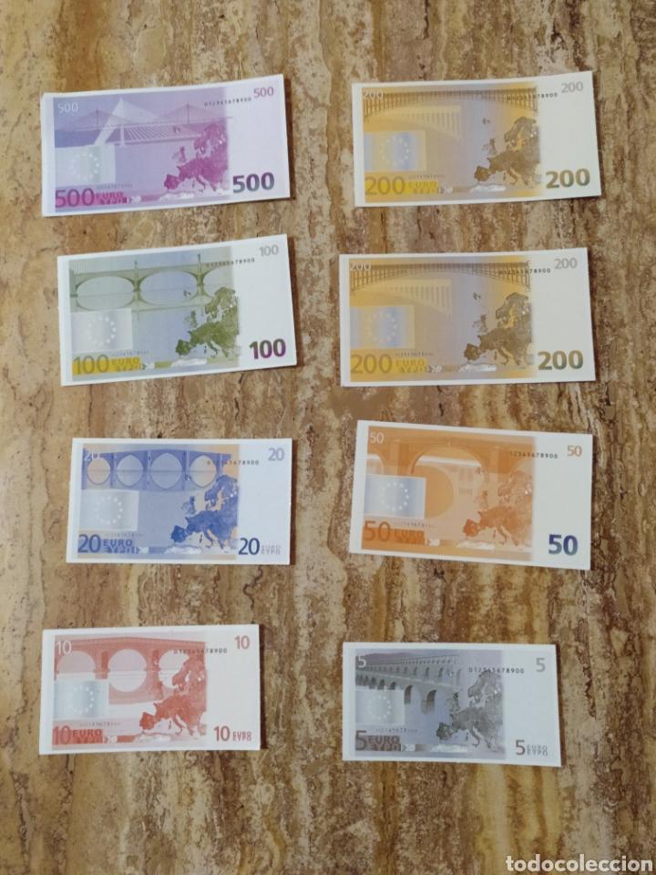 Reproducciones billetes y monedas: Billetes de euro didácticos en carton - Foto 2 - 180251671