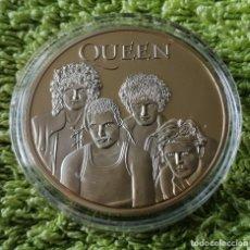 Reproducciones billetes y monedas: QUEEN. Lote 180856407