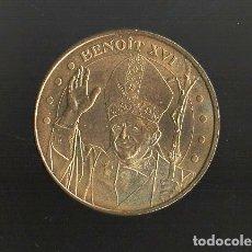 Reproducciones billetes y monedas: BENOIT XVI. MONNAGE DE PARÍS. MONEDA-131. Lote 180968836