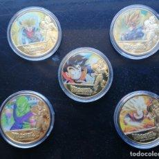 Reproducciones billetes y monedas: DRAGON BALL (BOLA DE DRAGÓN). Lote 181021298