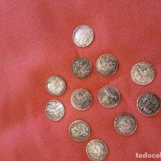 Reproducciones billetes y monedas: 12 MONEDAS. Lote 181477912