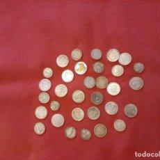 Reproducciones billetes y monedas: LOTE DE 32 MONEDAS. Lote 181478098