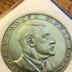 Reproducciones billetes y monedas: MONEDA ALEMANIA TERCER REICH 1938. Lote 182359735