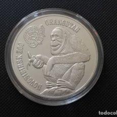 Reproducciones billetes y monedas: AUSTRALIA 2014 1 ONZA ORANGUTAN. Lote 182443851