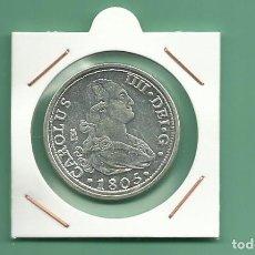 Reproducciones billetes y monedas: RÉPLICA DE LA FNMT. 8 REALES 1805 CARLOS IV MADRID. Lote 195310788