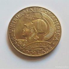Reproducciones billetes y monedas: ESTADOS UNIDOS 1915 $50 DOLLARS PANAMA PACIFIC EXPOSITION SAN FRANCISCO - 35.80.GR. - 43.MM DIAMETRO. Lote 182805673