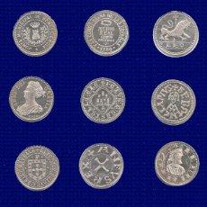 Reproducciones billetes y monedas: ARRAS GALLEGAS, ACUÑADAS EN PLATA. MONEDAS. FICHAS BODA REGALO GALIZA GALICIA. Lote 183429123