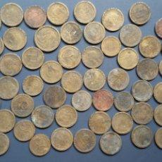 Reproducciones billetes y monedas: 54 PIEZAS DE LA COLECCIÓN LO QUE EL EURO SE LLEVÓ. Lote 183688598
