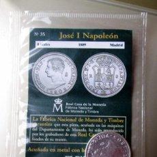 Reproducciones billetes y monedas: JOSE I -8 R. 1809. Lote 183774073
