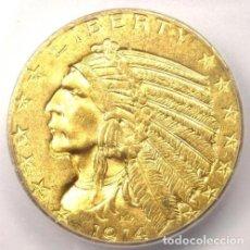 Reproducciones billetes y monedas: MONEDA DE ESTADOS UNIDOS 1914. Lote 184215287