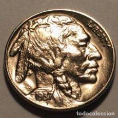 Reproducciones billetes y monedas: MONEDA DE ESTADOS UNIDOS AÑO 1937. Lote 184216861