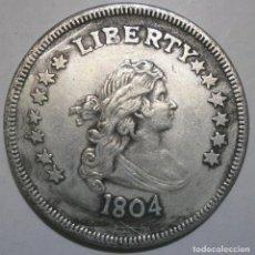 Reproducciones billetes y monedas: MONEDA DE ESTADOS UNIDOS DEL AÑO 1804. Lote 184218610