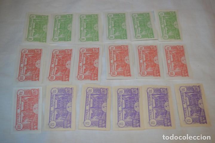Reproducciones billetes y monedas: 18 BILLETES GUERRA CIVIL variados - JUNIO 1937 - ALCAÑÍZ - ALGUNOS CONSECUTIVOS - CONSEJO MUNICIPAL - Foto 11 - 215238405