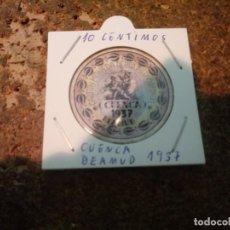 Reproducciones billetes y monedas: MONEDA CARTON DE CUENCA ( BEAMUD ) 10 CENTIMOS 1937. Lote 186201682