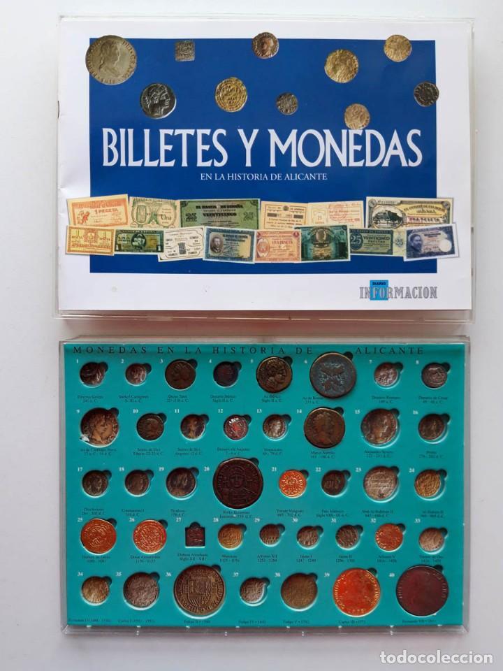 BILLETES Y MONEDAS EN LA HISTORIA DE ALICANTE. LEER CONTENIDO. SALIDA 1 CÉNTIMO (Numismática - Reproducciones)