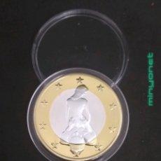 Reproducciones billetes y monedas: MONEDA DE 6 SEX EUROS - KAMASUTRA. Lote 187233348