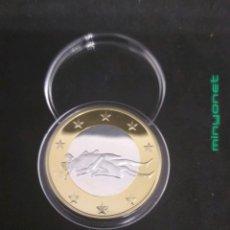 Reproducciones billetes y monedas: MONEDA DE 6 SEX EUROS - KAMASUTRA. Lote 187233603