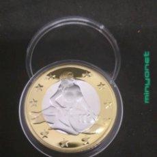 Reproducciones billetes y monedas: MONEDA DE 6 SEX EUROS - KAMASUTRA. Lote 187233785