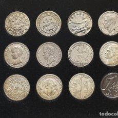 Reproducciones billetes y monedas: MONEDAS DE LA PESETA AL EURO. Lote 191846928